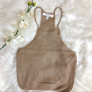 Forever 21 Love Tree Sweater-Knit Cami || M || A50
